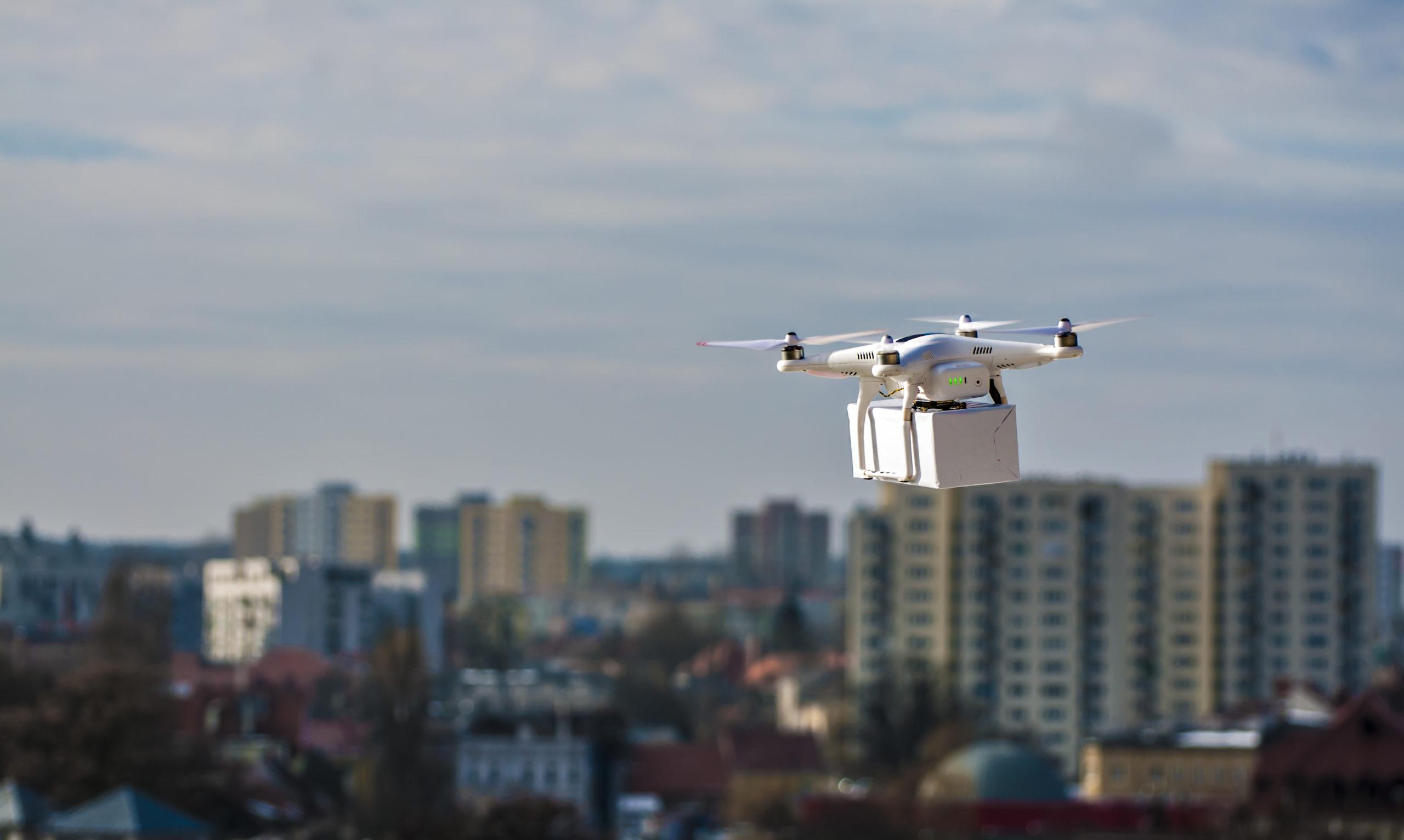 Commercial drones FAA LAANC
