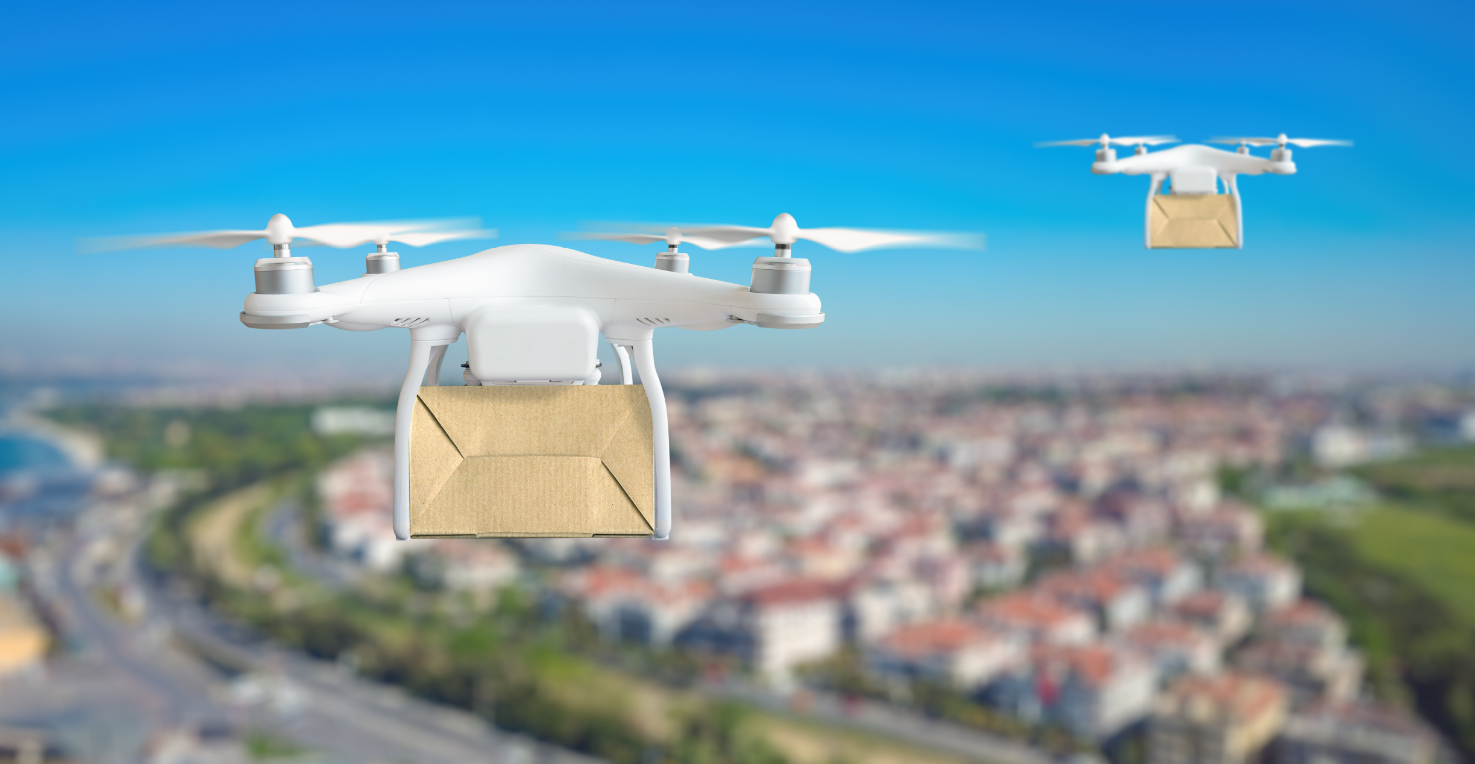 Package delivery drones